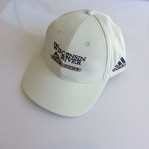 Adidas Wisconsin River Golf Club Hat Off White New